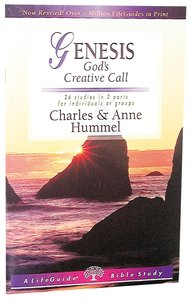 Genesis (Lifeguide Bible Study Series)