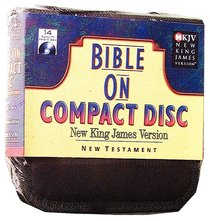 NKJV New Testament on Compact Disc Black Nylon Case Stephen Johnston