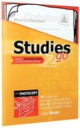 Youth Studies (Reproducible) (Studies 2 Go Series) Paperback