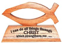 Laser Fish: I Can Do All Things Through Christ