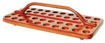 Communion Tray 40 Hole Wooden Rectangular