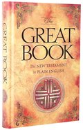 The Great Book: Plain English New Testament Hardback