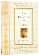 The Prayer of Jabez (Devotional) (#01 in Breakthrough Series) Hardback