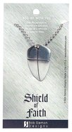 Pendant: Shield of Faith Large (Lead-free Pewter) Jewellery