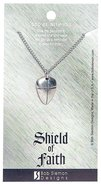 Pendant: Shield of Faith Small (Lead-free Pewter)