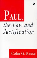 Paul, the Law and Justification Paperback
