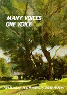 Many Voices One Voice Paperback