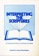Interpreting the Scriptures Paperback