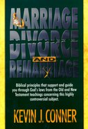 Marriage, Divorce and Remarriage Paperback
