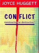 Conflict: Constructive Or Destructive? Paperback
