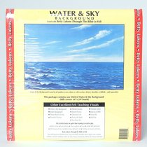 "Lukens Small Unmounted Water & Sky Background (16"" X 24"")"