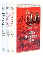 Expositional Commentary: Psalms (3 Vols Set) Hardback