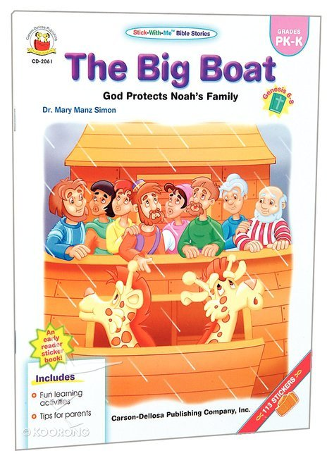 Buy Stick With Me The Big Boat Stick With Me Bible Stories Series
