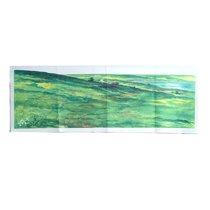 "Lukens Large Hillside Overlay (Used On 32"" X 48"" Background)"