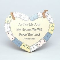 Wood Handicraft: As For Me and My House
