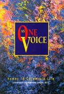 As One Voice Volume 1 People's Edition (Music Book) Paperback