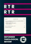 Reformed Theological Review August 2004