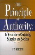 The Principle of Authority Paperback