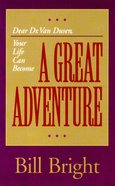 A Great Adventure Booklet