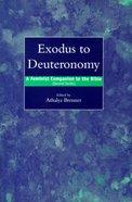 Exodus to Deuteronomy Paperback