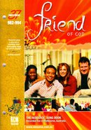 Rcm Volume F: Supplement 37 Friend of God (Music Book) (982-994) Paperback