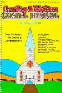 Country & Western Gospel Hymnal 4 (Music Book)