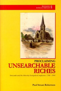 Proclaiming Unsearchable Riches