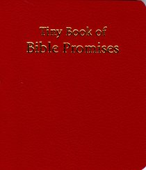 Novelty: Tiny Book of Bible Promises Red