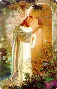 Pocket Card: Christ At Hearts Door