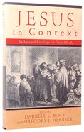 Jesus in Context Paperback
