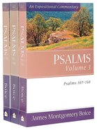 Psalms 3-Pack (3 Vols) (Expositional Commentary Series)