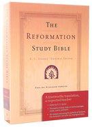 ESV Reformation Study Bible, the Black Genuine Leather