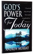God's Power For Today
