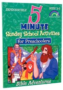 Bible Adventures (5 Minute Sunday School Activities Series) Paperback