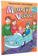 Teaching Children Memory Verses Ages 4&5 Paperback