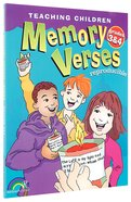Teaching Children Memory Verses Grades 3&4 Paperback
