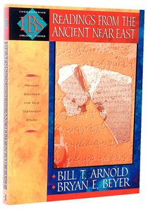 Readings From the Ancient Near East (Encountering Biblical Studies Series)