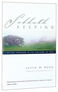 Sabbath Keeping