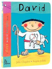 David (First Word Heroes Series)