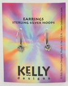 Earrings Kelly Design: Hoop Dove (Lead Free-pewter) Jewellery