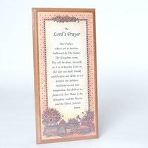Country Plaque: The Lords Prayer