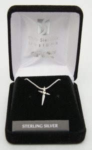 Pendant: Starpoints Heart With Cross (Solid Sterling Silver)