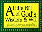 A Little Bit of God's Wisdom and Wit