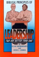 Biblical Principles of Leadership Paperback