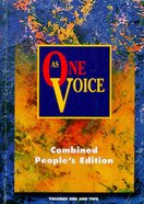 As One Voice Combined (Words Edition) Paperback