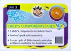 Kids@Church 03: Sp3 Ages 3-5 Child Components (Serious Play) (Kids@church Curriculum Series)