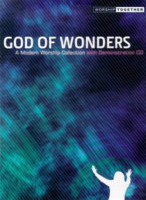 God of Wonders (Music Book) (Songbook)