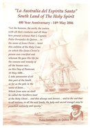 Poster Laminated: Southland of the Holy Spirit 400th Anniversary Poster