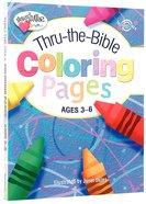 Thru-The-Bible Coloring Pages (Ages 3-6) (Heartshaper Series) Paperback