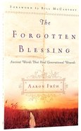 The Forgotten Blessing Paperback